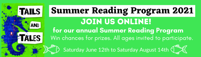 Tails and Tales Summer Reading Program 2021