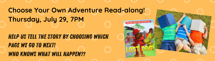 Choose Your Own Adventure Read-along