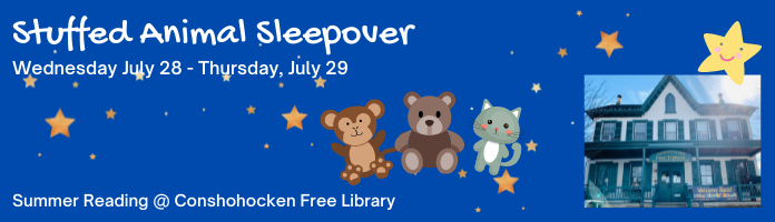 Stuffie Sleepover at the Library