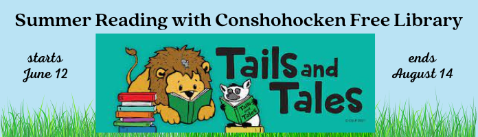 Summer Reading with Conshohocken Free Library & MCNPL!