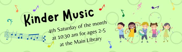 Kinder Music at the Main Library