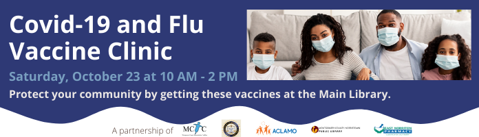 Covid-19 and Flu Vaccine Clinic at the Main Library